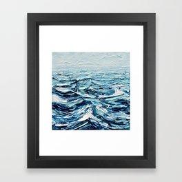 Tiny Seascape No. 2 Framed Art Print