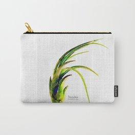 Tillandsia Paucifolia Air Plant Watercolors Carry-All Pouch