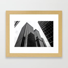 ArtWork New York City Print Work black white Framed Art Print