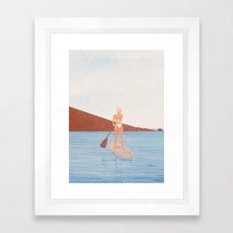 Summer Vacation II Framed Art Print