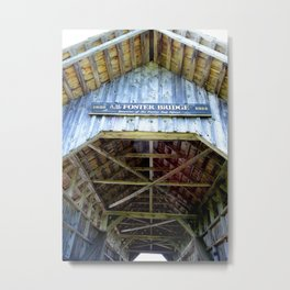Foster Bridge Metal Print
