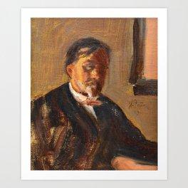 ILJA REPIN, PORTRAIT OF BORIS ALEXANDROVICH LAZAREVSKY. Art Print