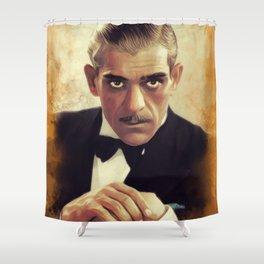 Boris Karloff, Hollywood Legend Shower Curtain