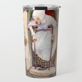 """""""Hansel and Gretel"""" by Anne Anderson Travel Mug"""