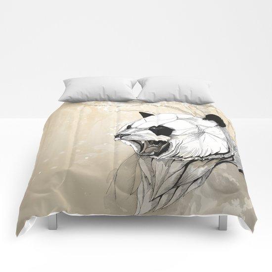 Angry Panda Comforters