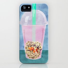 Clownfish Tea by Kenzie McFeely iPhone Case