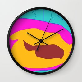 Evil Spy Bot Mind Of A 5 Year Old Wall Clock