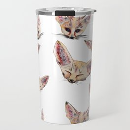 Fennec Foxes Travel Mug