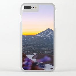 3 Sisters Sunset Clear iPhone Case