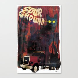 Sour Ground - Pet Sematary Tribute Canvas Print