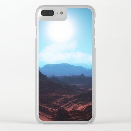 Mountain landscape II Clear iPhone Case