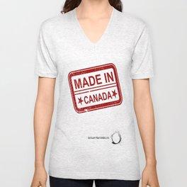 Made in Canada Unisex V-Neck