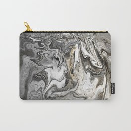 The Eye of the Tiger, Gold and Gray Carry-All Pouch