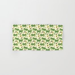 Fun Frogs with Leaves from Trees Hand & Bath Towel
