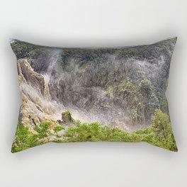 Thunderous beauty of Barron Falls Rectangular Pillow