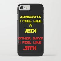 sith iPhone & iPod Cases featuring Feel Like Sith by Kramcox