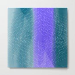 Delusional Lines Metal Print