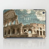 rome iPad Cases featuring Rome by Snaps Between Naps