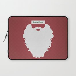 Santa Claus (Famous mustaches and beards) Laptop Sleeve