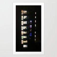 Vertical View Art Print