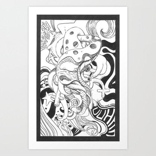 Sex moment Art Print