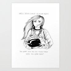 Jesus Christ // Brand New Art Print