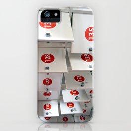 Lockers iPhone Case