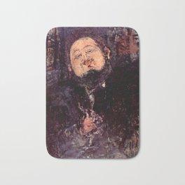 "Amedeo Modigliani ""Diego Rivera"" Bath Mat"