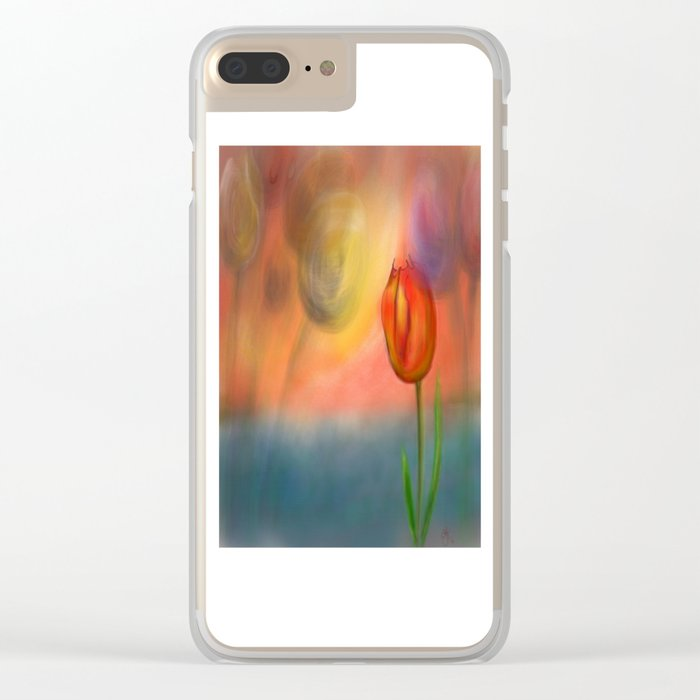 Echos of Lillies Clear iPhone Case