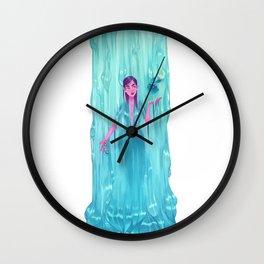 Water Nymph Wall Clock