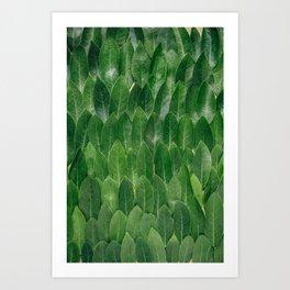 Leafy Wall Art Print