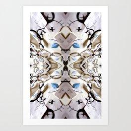 Ojos Biancos 03 Art Print