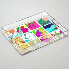 All I Wanna Do Acrylic Tray