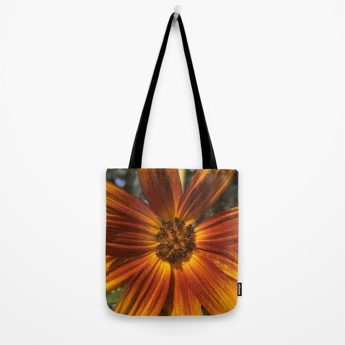 Sunburst Sunflower Tote Bag