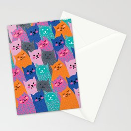 A Bunch of Cats Stationery Cards
