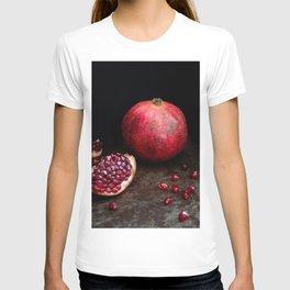 Pomegranate still life l Food Photography Art T-shirt