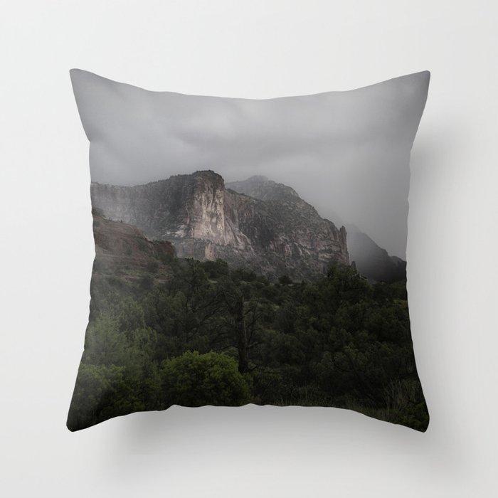 Red Rocks Sedona, Arizona Throw Pillow