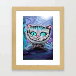 Cheshire Cat Framed Art Print