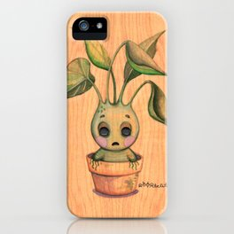 Baby Mandrake iPhone Case