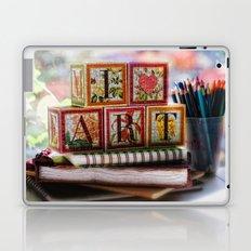 I Love Art Laptop & iPad Skin