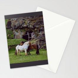Icelandic Horses III Stationery Cards