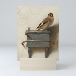 The Goldfinch Painting by Carel Fabritius, 1654 Mini Art Print