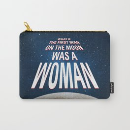 What if - 50 Years Moonlanding Carry-All Pouch