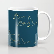 Wild Swans in Flock Coffee Mug