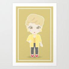 Girls in their Golden Years - Blanche Art Print