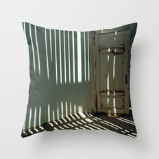 Striped Wall Throw Pillow