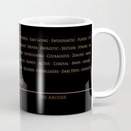 Sign Language for Sagittarius Coffee Mug