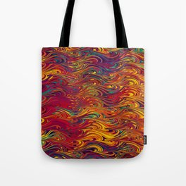 Wave Of Colors 2 Tote Bag