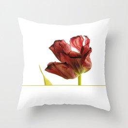 mature beauty Throw Pillow