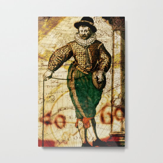 The Traveller Metal Print